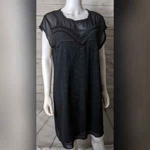 Cabi 3513 M Black Dress Up Dress